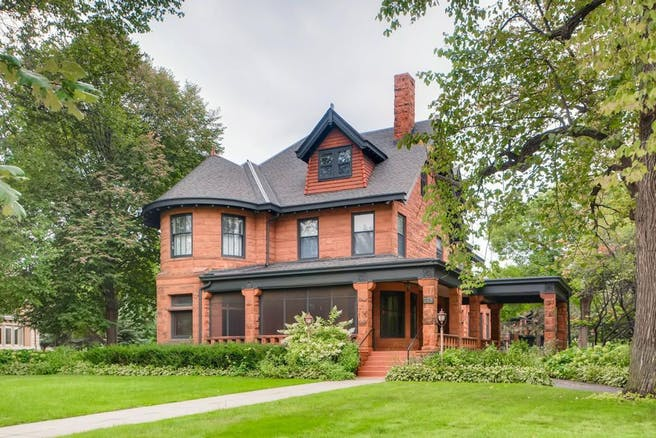 Beautiful Queen-Anne Mansion located on Summit Hill, St. Paul, MN