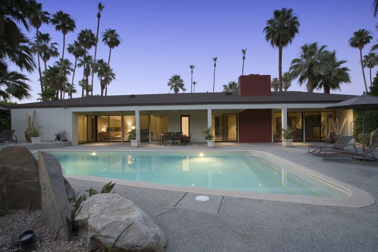 Beautiful mid-century home with pool