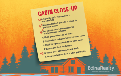 Closing Your Cabin: 9 Great Tips